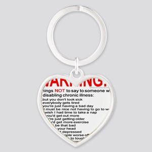 10illness_warn1 Keychains