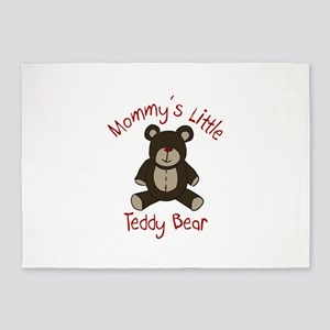Mommys Teddy Bear 5'x7'Area Rug