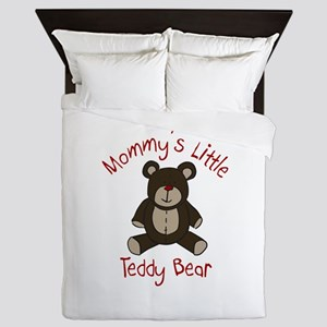 Mommys Teddy Bear Queen Duvet