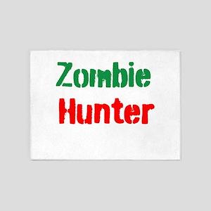 Zombie Hunter 5'x7'Area Rug