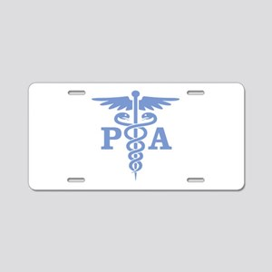 Caduceus PA (blue) Aluminum License Plate