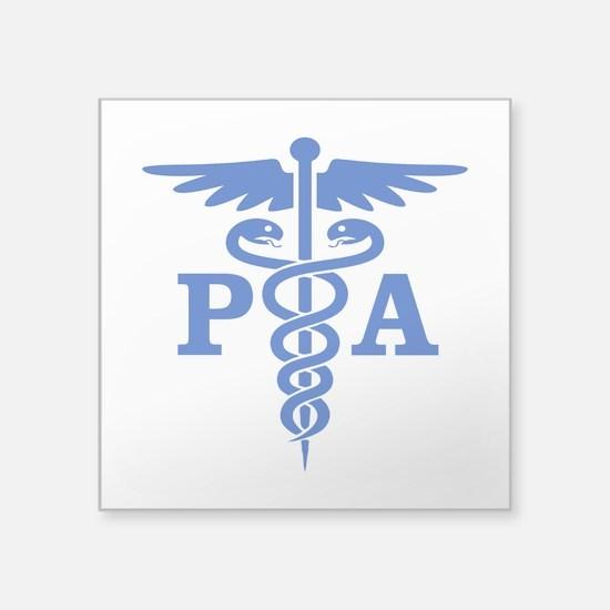 Caduceus PA (blue) Sticker