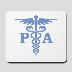Caduceus PA (blue) Mousepad