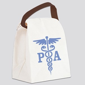 Caduceus PA (blue) Canvas Lunch Bag