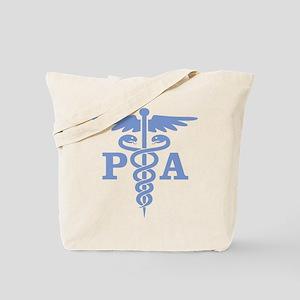 Caduceus PA (blue) Tote Bag