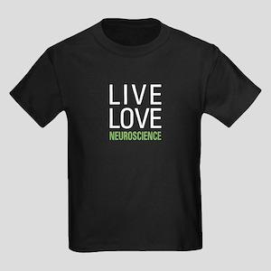 Live Love Neuroscience Kids Dark T-Shirt