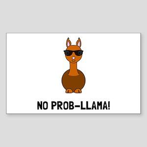 No Prob Llama Sticker
