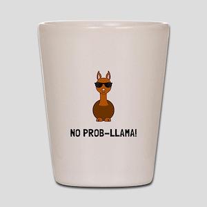 No Prob Llama Shot Glass