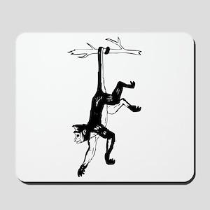 Gibbon Monkey Mousepad