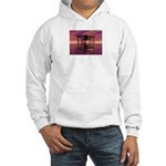 Metal Cage Floating In Water Hoodie