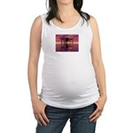 Metal Cage Floating In Water Maternity Tank Top