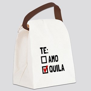 Te Quila Canvas Lunch Bag