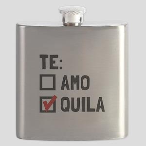 Te Quila Flask