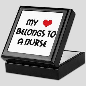 I Heart Nurses Keepsake Box