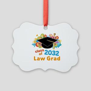 2032 Law School Grad Class Picture Ornament