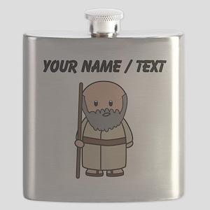 Custom Old Roman Man Flask