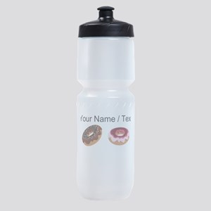 Custom Donuts Sports Bottle