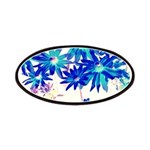 Blue flowers Patches