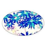 Blue flowers Sticker