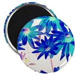 Blue flowers Magnets