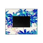 Blue flowers Picture Frame