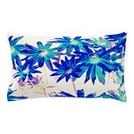 Blue flowers Pillow Case