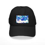 Blue flowers Baseball Hat