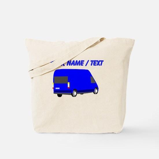 Custom Blue Transporter Van Tote Bag