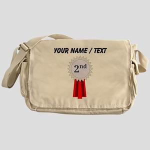 Custom 2nd Place Ribbon Messenger Bag
