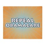 Repeal Obamacare Throw Blanket