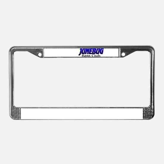 Bass Club License Plate Frame