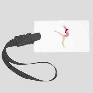 Gymnast Girl Luggage Tag