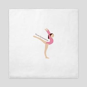 I Love Gymnastical Queen Duvet