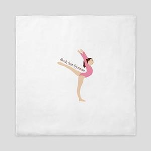 Rock Star Gymnast Queen Duvet