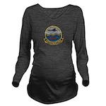VP-22 Long Sleeve Maternity T-Shirt