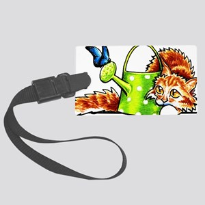 Maine Coon Orange Luggage Tag