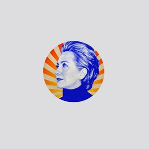 Hillary Clinton Mini Button