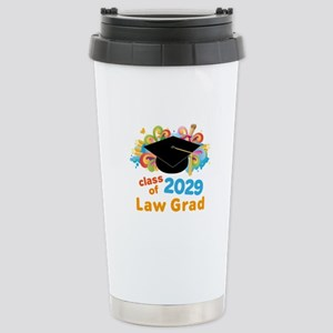2029 Law School Grad Cl Stainless Steel Travel Mug