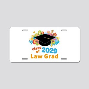2029 Law School Grad Class Aluminum License Plate