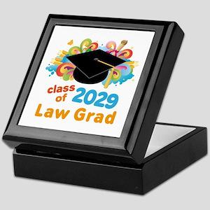 2029 Law School Grad Class Keepsake Box