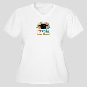 2029 Law School G Women's Plus Size V-Neck T-Shirt