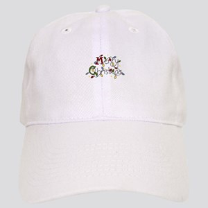 Merry Christmas Lights Baseball Cap
