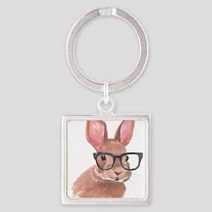 Nerd Bunny Keychains