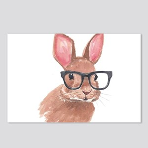 Nerd Bunny Postcards (Package of 8)