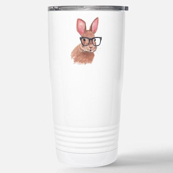 Nerd Bunny Travel Mug