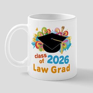 2026 Law School Grad Class Mug