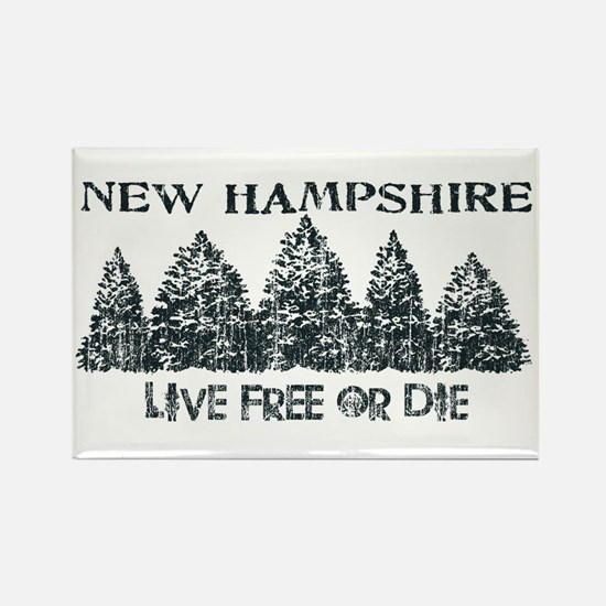 Cute Live free die Rectangle Magnet