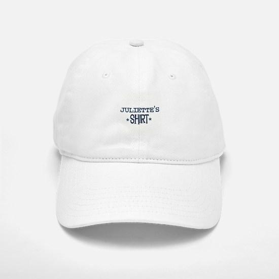Juliette Baseball Baseball Cap