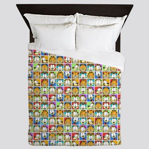 Garfield Face Time Queen Duvet