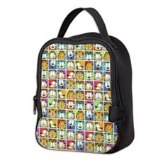 Garfield Face Time Neoprene Lunch Bag